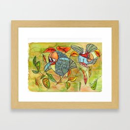 nice place to lay an egg!! Framed Art Print