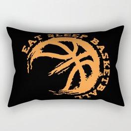 Eat Sleep Basketball Rectangular Pillow