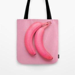 Extravagant pink bananas Tote Bag