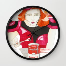 EATINGWARHOL Wall Clock