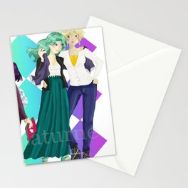 Outer Senshi Stationery Cards