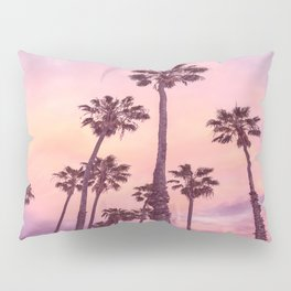 Palms to Pink World Pillow Sham