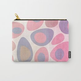Mod Egg Textured Pink Carry-All Pouch