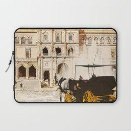 Plaza de Espana, Seville Laptop Sleeve