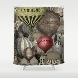 Les Balons I Shower Curtain