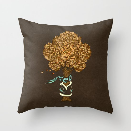I'm Cold Throw Pillow