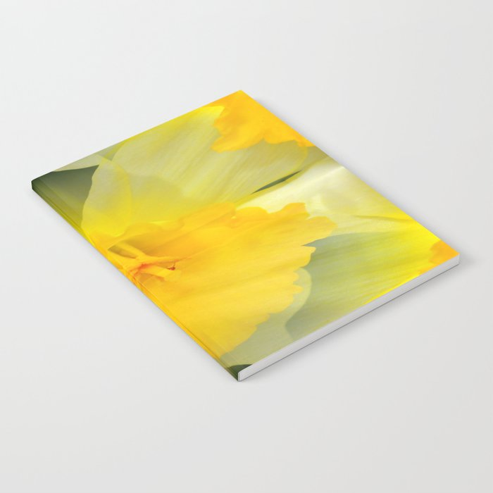 Endless Yellow Daffodil Notebook