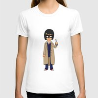 tina crespo T-shirts featuring Doctor Tina, Time Lord by GrahamBailey