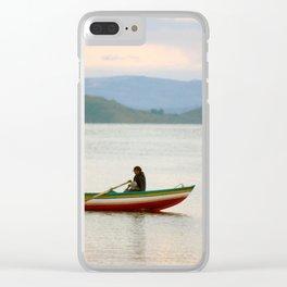 Titicaca 5 Clear iPhone Case