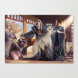 Changing the Game Canvas Print