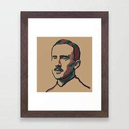 J.R.R. Tolkien Framed Art Print
