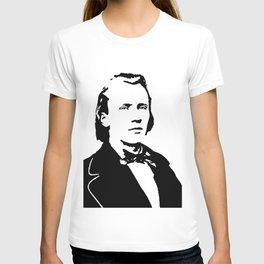 Johannes Brahms (1833 – 1897) in 1853 T-shirt