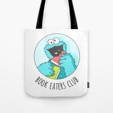 Book Monster Tote Bag