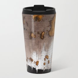 Expresso Head and the Coffee Clouds Travel Mug