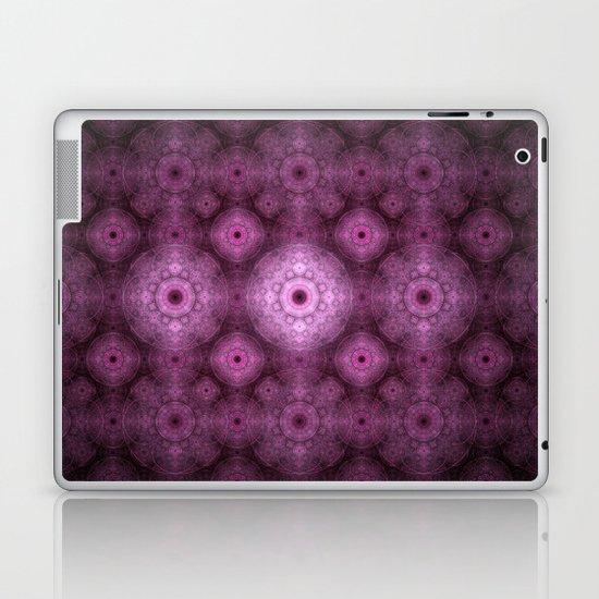 Pink Fractal Pattern Laptop & iPad Skin