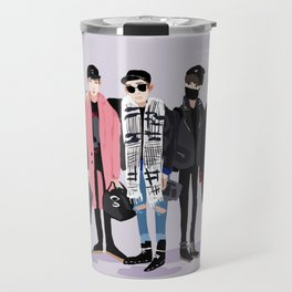 BTS airport fashion Travel Mug