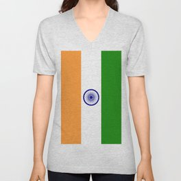 Flag of India Unisex V-Neck