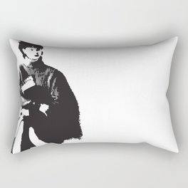 conflicted Rectangular Pillow