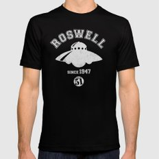 ROSWELL! X-LARGE Black Mens Fitted Tee