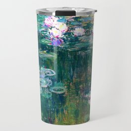 water lilies : Monet Travel Mug