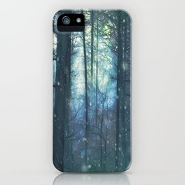 The Woods In Winter iPhone Case