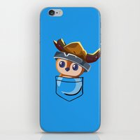 warcraft iPhone & iPod Skins featuring Viking Pepe! by SlothgirlArt