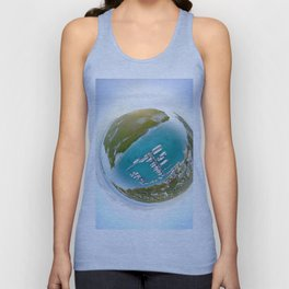 Tiny Planet Turks and Caicos Unisex Tank Top