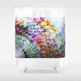 pattern one Shower Curtain