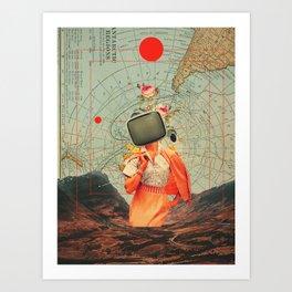 Antarctic Broadcast Art Print
