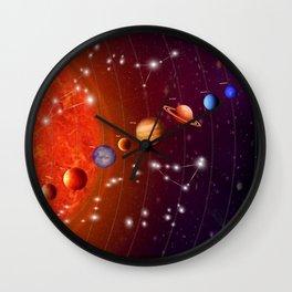 Planeten Wall Clock