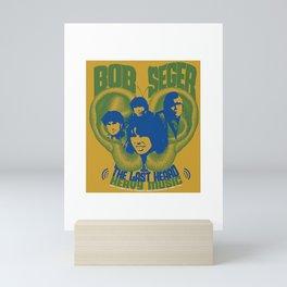 bob seger album 2021 katrin6 Mini Art Print