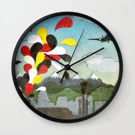Centro de Chile Wall Clock