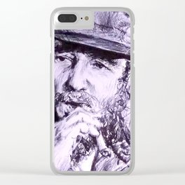 Castro Clear iPhone Case
