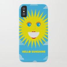 Hello Sunshine Slim Case iPhone X
