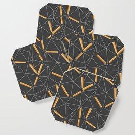 Yellow Prisma Coaster