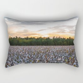 Cotton Field 11 Rectangular Pillow