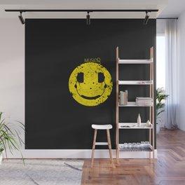 Music Smile V2 Wall Mural