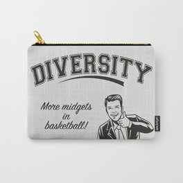 Diversity - Midgets in Basketball Carry-All Pouch