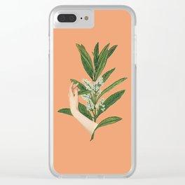 Self-love: Bloom Clear iPhone Case