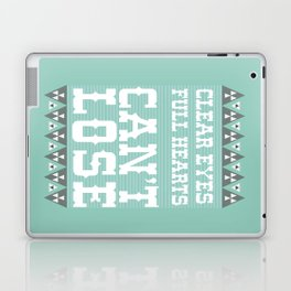 Clear Eyes Full Heart Can't Lose Laptop & iPad Skin