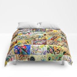 Wassily Kandinsky Montage Comforters