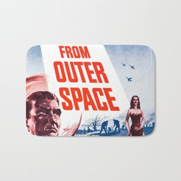 Vintage poster - Plan 9 from Outer Space Bath Mat