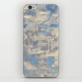 Woman with a Parasol - Madame Monet and Her Son iPhone Skin
