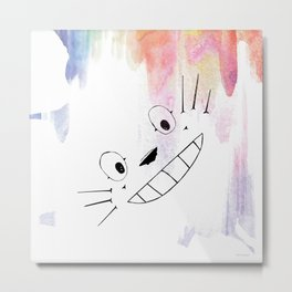 Totoro Love Metal Print