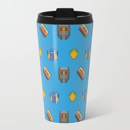 Awesome Mix Vol 1- Yondu Blue Travel Mug
