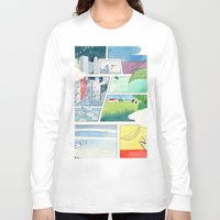 banana Long Sleeve T-shirts featuring Banana by itoshige