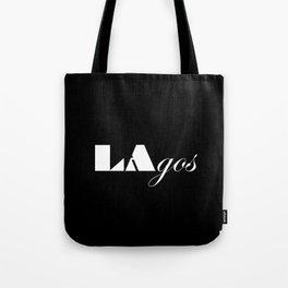 LAgos Black  Tote Bag
