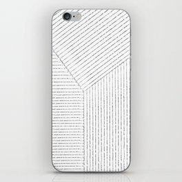 Lines Art iPhone Skin