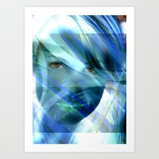 The Truth is in the Eye's Art Print