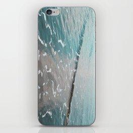 neon ocean iPhone Skin